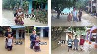 6 Transformasi Netizen saat Kebanjiran Ini Curi Perhatian (sumber: Instagram/kegblgnunfaedh)