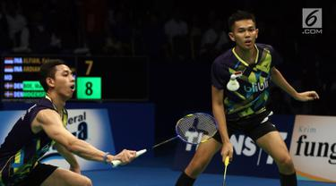 Alfian / Ardianto Terhenti di Semifinal Indonesia Open 2017