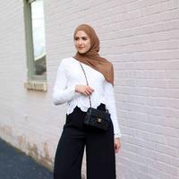 Ini yang harus dihindari ketika memakai baju Lebaran. (sumber foto: withloveleena.com/pinterest)