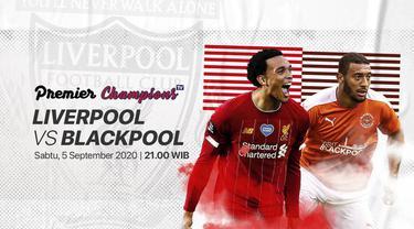 Berita video juara Liga Inggris 2019/2020, Liverpool, akan menghadapi Blackpool dalam laga uji coba yang ditayangkan di Vidio pukul 21.00, Sabtu (5/9/2020) WIB.