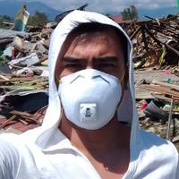 Shandy Syarief amat prihatin dengan korban gemba Palu. (Istimewa)