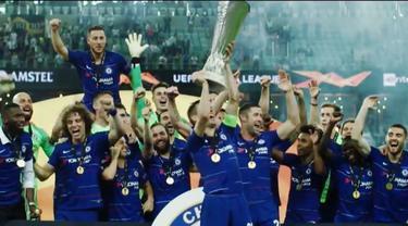Berita Video Flashback Liga Europa, Persembahan Terakhir Eden Hazard Untuk Chelsea Musim Lalu