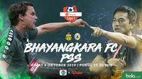 Shopee Liga 1 - Bhayangkara FC Vs PSS Sleman Head to Head Pelatih (Bola.com/Adreanus Titus)