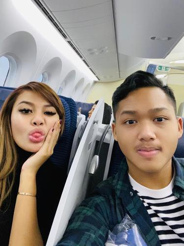 Azriel Hermansyah dan Aurel. (Foto: Instagram @azriel_hermansyah)