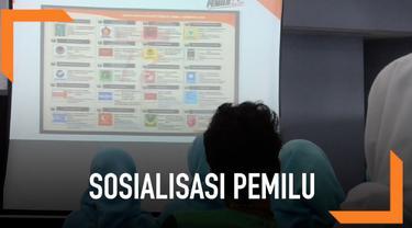 KPUD Solo gelar sosialisasi pemilu di rumah sakit jiwa setempat. Tercatat 77 penghuni jadi calon pemilih.