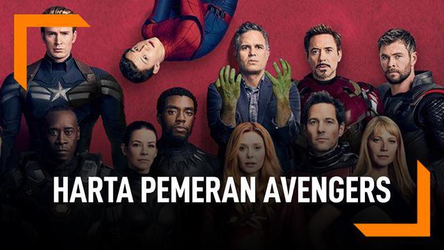 Ini Besaran Harta Para Pemeran Avengers, Iron Man Terkaya