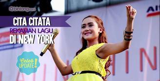 Cita Citata sudah merilis single NY Cita atau NYC pada 17 April silam.