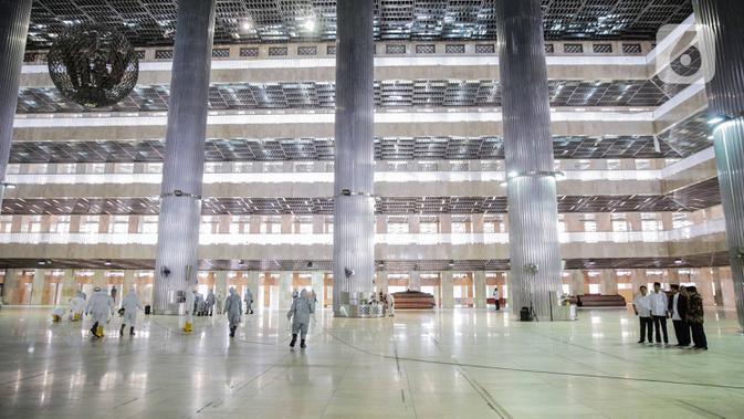 Masjid Istiqlal Akan Digunakan Salat Idul Adha Tingkat Kenegaraan