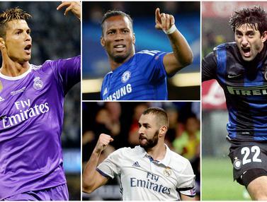 FOTO: 6 Predator Andalan yang Sukses Besar Bersama Jose Mourinho