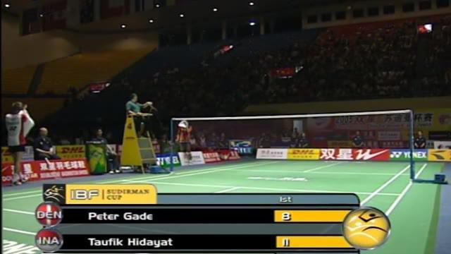 Berita Video Flashback Bulutangkis Duel Seru Taufik Hidayat Melawan Peter Gade Dalam Pertandingan Semifinal Sudirman Cup Ditahun 2005