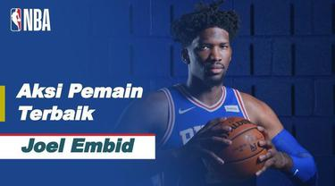 Berita video bintang Philadelphia 76ers, Joel Embiid, menjadi pemain terbaik NBA hari ini, Minggu (28/2/2021) WIB.