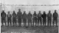Masker gas pada Perang Dunia I, salah satu fungsinya adalah meminimalisir efek senjata kimia gas klorin. (Agence Rol / Wikimedia / Public Domain)