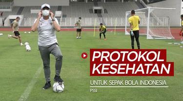 Berita video PSSI mengingatkan pentingnya patuhi protokol kesehatan untuk sepak bola Indonesia.