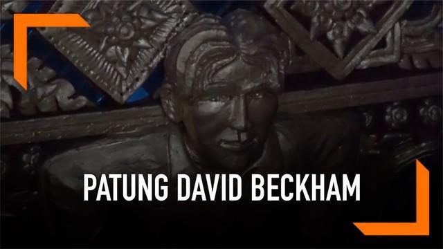 Patung David Beckham hadir di salah satu kuil Buddha di Thailand. Selain patung David Beckham, ada patung Wolverine, Captain America dan Pinocchio yang menghiasi kuil tersebut.