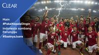 Kesuksesan Indonesia meraih medali perunggu tidak lepas dari para pemain yang #PakaiKepalaDingin selama 90 menit laga.