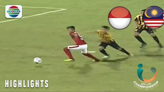 Berita video momen penyerang Timnas Indonesia U-16, Sutan Zico, yang nyaris membobol gawang Malaysia U-16 pada babak pertama semifinal Piala AFF U-16 2018, Kamis (9/8/2018).