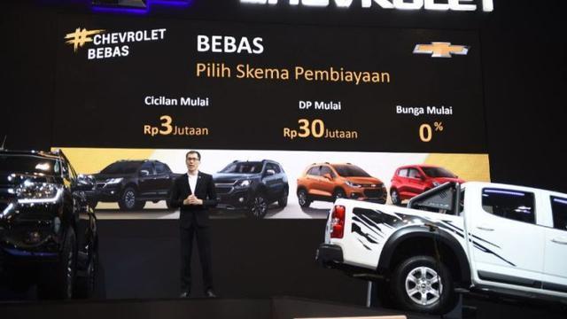 Hadir Di Iims 2019 Chevrolet Tawarkan Cicilan Rp3 Jutaan