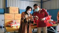 Kementerian Sosial RI mempersiapkan penanganan pasca terjadi bencana, salah satunya terkait dengan pengelolaan dan penyediaan stok permakanan dan peralatan yang berada di gudang-gudang logistik.