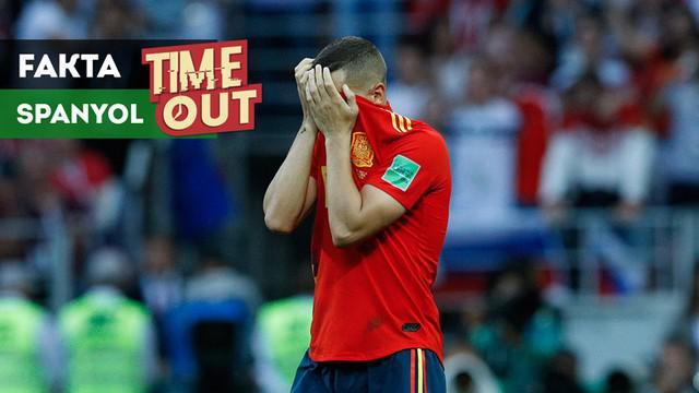 Berita video fakta menarik soal Timnas Spanyol yang sering kalah dari tim tuan rumah di turnamen antar negara.