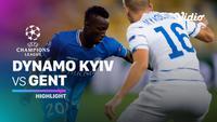 Berita Video Highlights leg kedua play-off Liga Champions, Dynamo Kiev Vs Gent 3-0