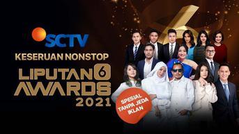 Live Streaming Liputan 6 Awards 2021, Tayang Kamis 28 Oktober 2021 Pukul 12.00 WIB