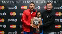 Eduardo Vargas meraih gelar Man of the Match dalam laga Cile vs Peru, Selasa (30/6). (Foto: Copa America 2015)