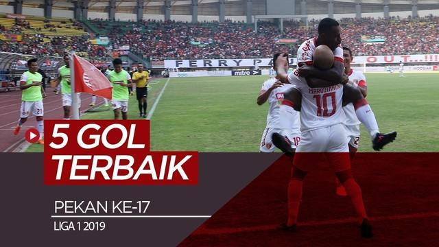 Berita video gol-gol terbaik yang tercipta pada pekan ke-17 Shopee Liga 1 2019. Siapa sajakah?
