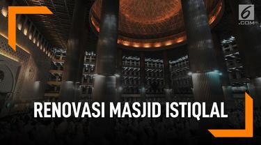 Fakta di Balik Renovasi Masjid Istiqlal