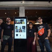 Peluncuran website resmi apparel Filosofi Kopi. (Windy Sucipto/Fimela.com)