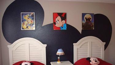 Inspirasi Kamar Tidur Bertemakan Mickey Minnie Mouse Fashion Fimela Com