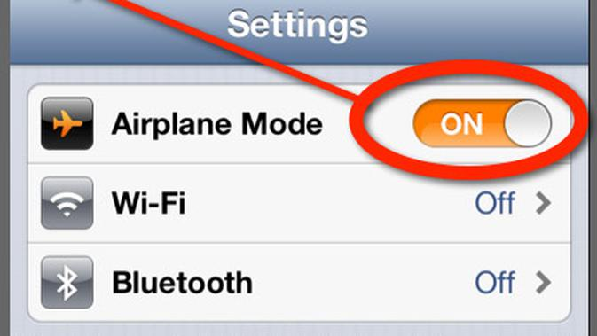 Mengenal Fungsi Airplane Mode Di Smartphone Tekno Liputan6 Com