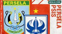 Shopee Liga 1 2020: Persela Lamongan vs PSIS Semarang. (Bola.com/Dody Iryawan)