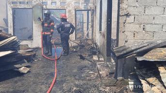 Kebakaran di Padang, 5 Rumah Ludes Dilalap Si Jago Merah