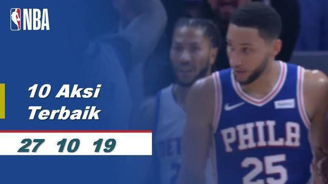 Berita Video 10 Aksi Terbaik Minggu Ini di NBA 2019-2020
