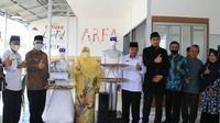 Robot ciptaan santri Perguruan Diniyyah Puteri Padang Panjang. (Liputan6.com/ Diskominfo Padang Panjang).