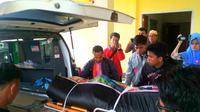 La Hambu meninggal dunia karena kelelahan usai melakukan tugas sebagai KPPS. (Liputan6.com/Akbar Fua)