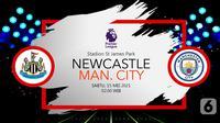 Newcastle United vs Manchester City (liputan6.com/Abdillah)