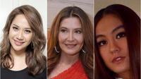 Bunga Citra Lestari, Tamara Bleszynski, Agnez Mo tampil wajah tua (Dok. Liputan6.com/Komarudin)