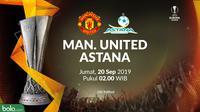 Liga Europa - Manchester United Vs Astana (Bola.com/Adreanus Titus)