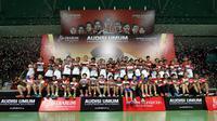 PB Djarum kembali bertekad berburu pemain muda bermental juara pada Audisi Umum Djarum Beasiswa Bulutangkis 2019. (dok. PB Djarum)