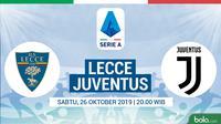 Serie A - Lecce Vs Juventus (Bola.com/Adreanus Titus)