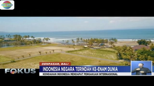 Situs Rough Guides nobatkan Indonesia jadi negara terindah keenam dunia setelah Afrika Selatan.
