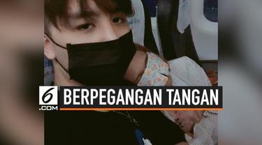 Dua penumpang mengalami kejadian manis yang tak terduga ketika berada di sebuah penerbangan menuju Taiwan. Kedua penumpang itu saling jatuh cinta sampai-sampai memutuskan untuk menjadi pasangan kekasih setelah berpegangan tangan selama pesawat turbul...