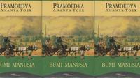 Novel Bumi Manusia karya Pramoedya Ananta Toer, bagian pertama dari Tetralogi Pulau Buru.