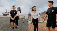 Azriel Hermansyah dan Sarah Menzel (Sumber: Instagram/azriel_hermansyah)