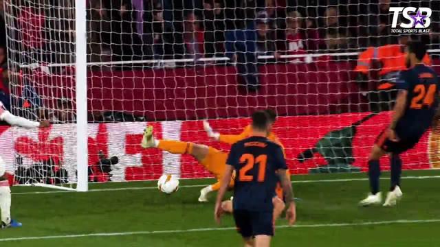 Berita video kumpulan penyelamatan terbaik yang tercipta pada semifinal Liga Europa 2018-2019.