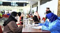 Tes PCR di Airport Health Center Bandara Soekarno-Hatta. Dok AP 2