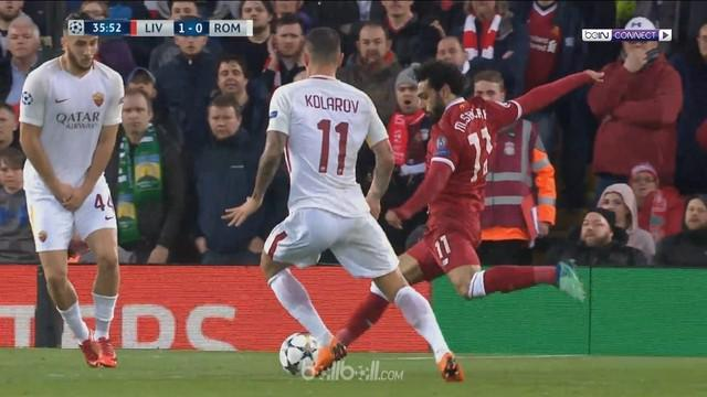 Berita video gol-gol kemenangan Liverpool atas AS Roma pada leg pertama semifinal Liga Champions 2017-2018. This video presented by BallBall.