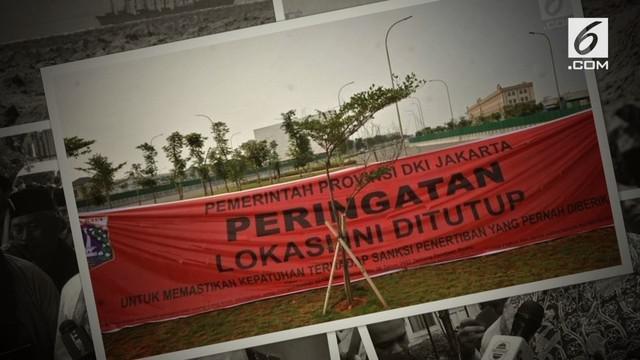 Gubernur DKI Jakarta Anies Baswedan resmi mencabut izin pembangunan pulau-pulau reklamasi atas rekomendasi Badan Pengelolaan Reklamasi.