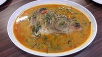 Gulai si Manyun dari Medan, salah satu menu unggulan di Pesisir Seafood (Liputan6.com/Komarudin)